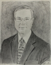 graphite sketch for commissioned portrait