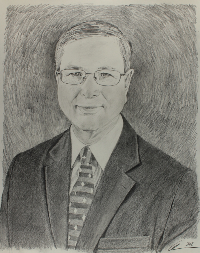 Michael Clyburn Portrait Sketch