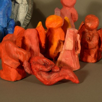 ceramic, acrylic