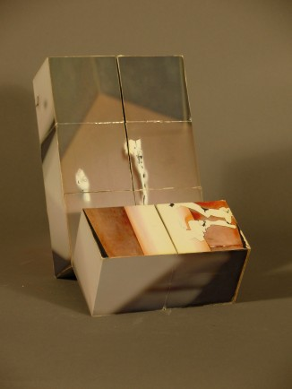 segmented cube that displays one complete image in every configuration