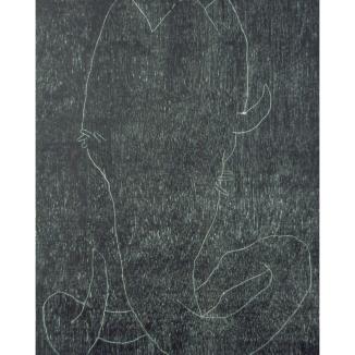 "woodcut, 30"" X 44"""
